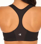 Double Dry Zipper Front No Wire Sports Bra