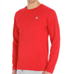Cotton Jersey Athletic Fit Long Sleeve Tee