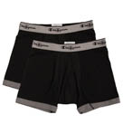 2 Pack Performance Stretch Short Boxer Brief