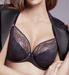 Chantelle Superbe 3 Part Plunge Underwire Bra 2561