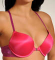 Charmed By Maidenform 2X Push Up Lace T Back Bra C0134