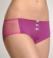 Charmed By Maidenform Micro & Mesh Boyshort Panty CO405