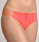 Charmed By Maidenform Micro & Mesh Thong CO407
