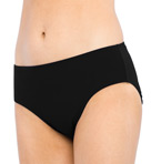 Solid Semi-High Waisted Swim Bottom