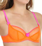 Claudette Dessous Mesh Full Coverage Neon Bra 2000NE