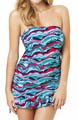 Tilly Bandeau Tankini Dress Swim Top Image