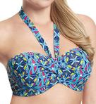 Jecca Padded Bandeau Bikini Swim Top