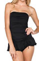 Solids Bandeau Swimdress Image