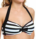 Coco Rave Most Wanted Stripe Halter Swim Top R85283