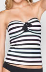 Coco Rave Most Wanted Stripe Bandeau Tankini Swim Top R85286