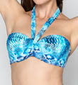 Grotto Snake Five Way Bandeau Swim Top Image