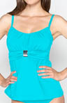 Solids Perfect Fit Underwire Tankini Swim Top Image