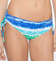 Tye Dye Island Smooth Curves Swim Bottom Image