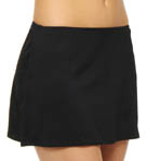 Solids Skirted Swim Bottom