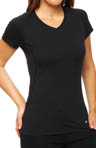 Total Zero Short Sleeve V-Neck Top