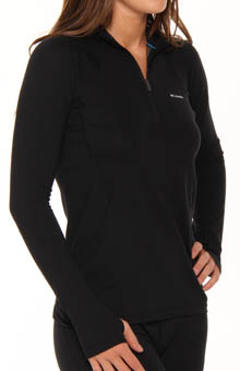 Columbia Baselayer Midweight Long Sleeve 1/2 Zip Top