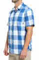 Thompson Hill Short Sleeve Wide Check Shirt Image