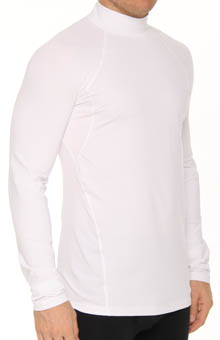 Baselayer Midweight Mock Neck Long Sleeve Top