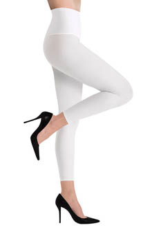 Matte Opaque Footless Tights
