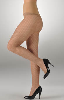 Luxe Diamond Metallic Tights