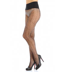 Commando Geo Net Pattern Tights HN006