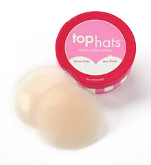 Top Hats Reuseable Silicone Nipple Concealers