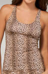 Anouck Leopard Racer Back Tank