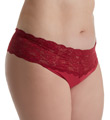 Never Say Never Lovelie Lace Plus Size Thong Image