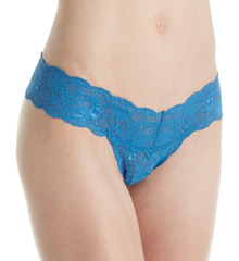 Never Say Never Cutie Low-Rider Lace Thong