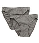 Organic Cotton Low Rise Bikini Panty - 2 Pack Image