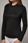 Cuddl Duds Climatesmart Long Sleeve Mock Neck Tee 8112041