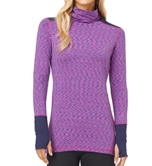 Cuddl Duds Flex Fit Long Sleeve Huddl Up Top 8112350