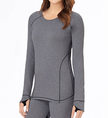 Cuddl Duds Sport Layer Long Sleeve Crew 8312418