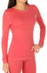 Cuddl Duds ThinLayer Long Sleeve Crew Neck Top 8412086