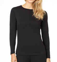 Cuddl Duds Climatesmart Long Sleeve Crew Neck 8412441