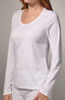 Climatesmart Long Sleeve V-Neck Tee