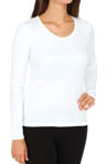 Climatesmart Long Sleeve V Neck