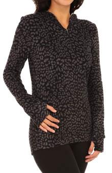 Cuddl Duds Fleecewear Long Sleeve Half-Zip Hoodie 8812265 ...