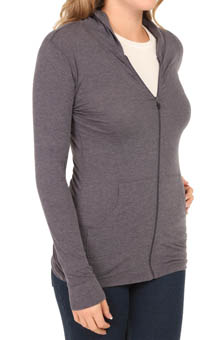 Cuddl Duds Second Layer Hooded Zip-Up