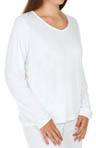 Climatesmart Long Sleeve V Neck Plus Size Image
