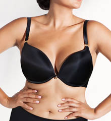 Curvy Couture Sexy Plunge Convertible Underwire Bra 1027