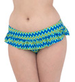Shockwave Skirted Swim Brief Swim Bottom Image