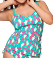 Curvy Kate Birds of Paradise Tankini Swim Top CS1406