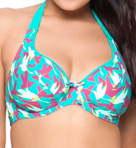 Curvy Kate Birds of Paradise Halterneck Swim Top CS1421