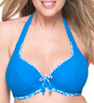 Curvy Kate Coral Reef Halterneck Swim Top CS1521