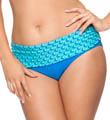 Marina Mini Fold Over Brief Swim Bottom Image