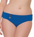 Curvy Kate Luau Love Mini Fold Over Swim Bottom CS1925