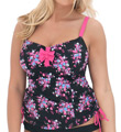 Curvy Kate Moonflower Non Padded Tankini Swim Top CS2506