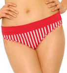 Curvy Kate Horizon Fold Over Brief Swim Bottom CS7025