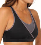 Danskin Synthetic Reversible Surplice Sports Bra DS0003